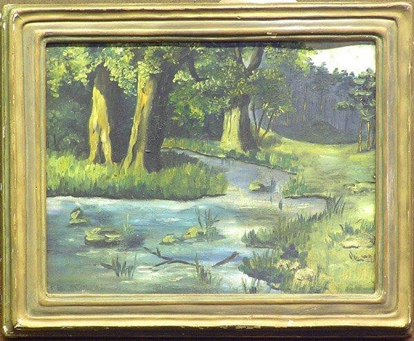 3: painting Bischoff landscape
