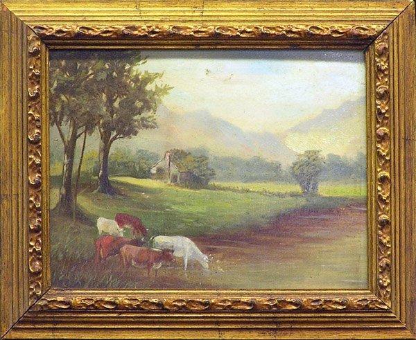 6: painting landscape animal