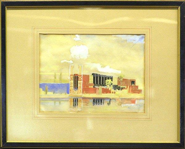 7: painting landscape 1930's