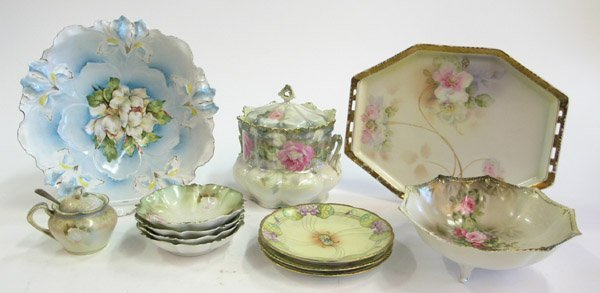 12: R.S. Prussia Royal Rudolstadt porcelain