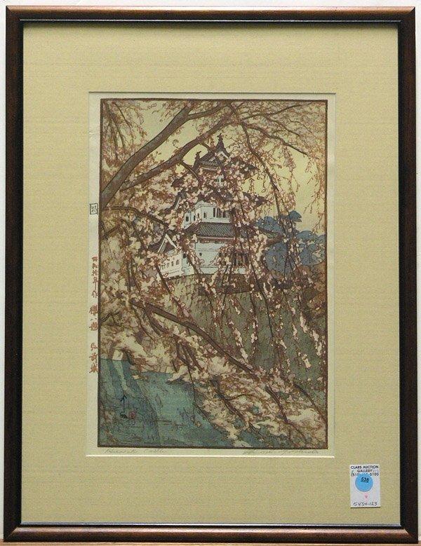 538: Japanese Modern Print, Hiroshi Yoshida