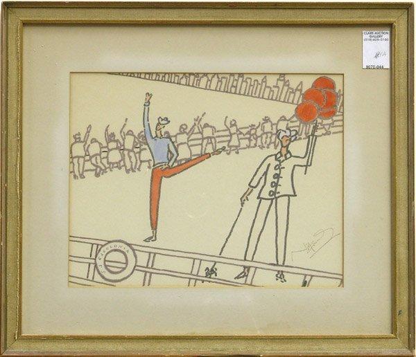 2000: Drawing Noel Coward European modern