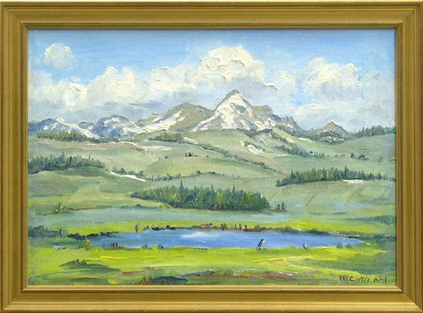 2004: painting Henry Curtis Ahl American