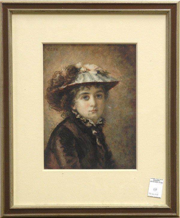 2009: painting portrait