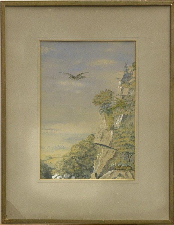 2011: painting tropical landscape