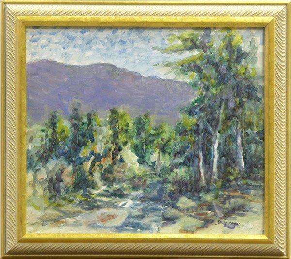 2012: painting John Dominique Californian
