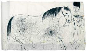 2124: Ink painting Walasse Ting Chinese