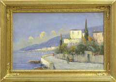 2133 Painting Italian Landscape after Wagner
