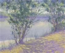 2167: Painting Louise Noack Gray Californian
