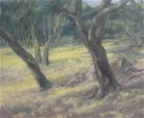2169: Painting Louise Noack Gray Californian