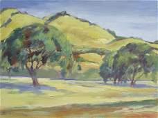 2170: Painting Louise Noack Gray Californian