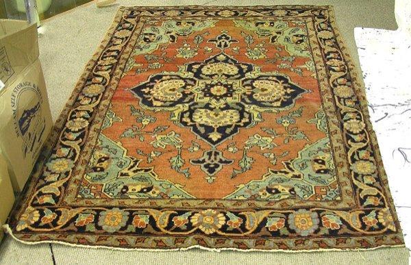 2246: Persian Heriz Rug Carpet