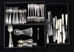 Gorham Mfg Co sterling silver flatware service