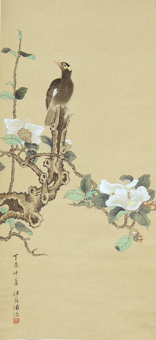 Chinese Scrolls, Puzhu, Birds-and-Flowers - 2