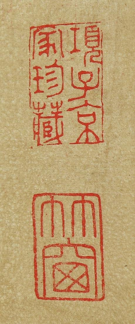 Chinese Scrolls, Puzhu, Birds-and-Flowers - 5