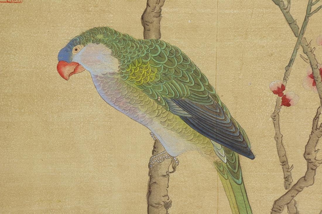 Chinese Scrolls, Puzhu, Birds-and-Flowers - 6