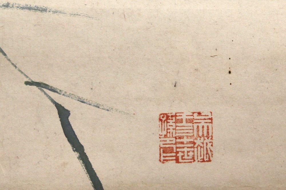 Chinese Scrolls, Manner of Qi Baishi, Chrysanthemums - 7