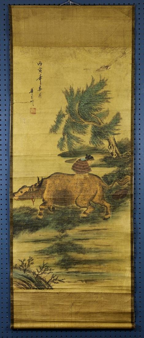 Chinese Scrolls, Flowers of the Four Seasons - 10