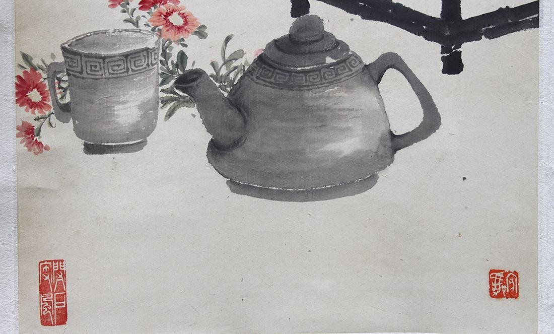 Chinese Scrolls, Flowers of the Four Seasons - 2