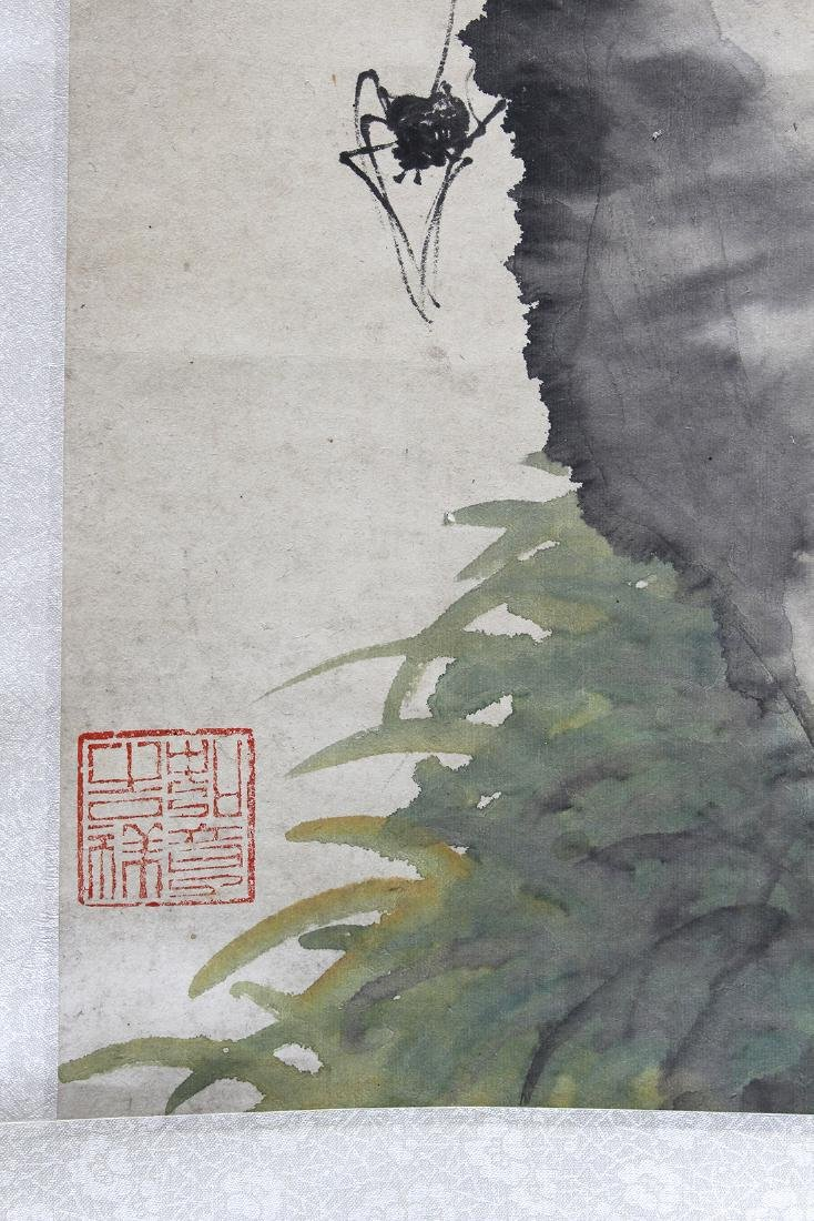 Chinese Scrolls, Flowers of the Four Seasons - 3