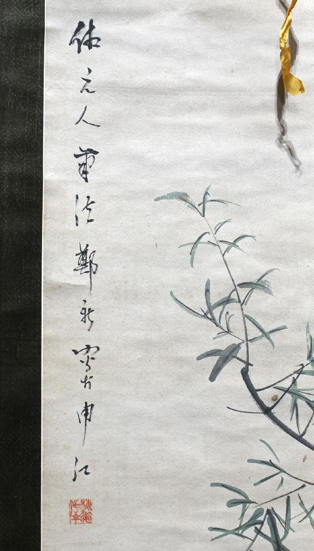 Chinese Scrolls, Flowers of the Four Seasons - 7
