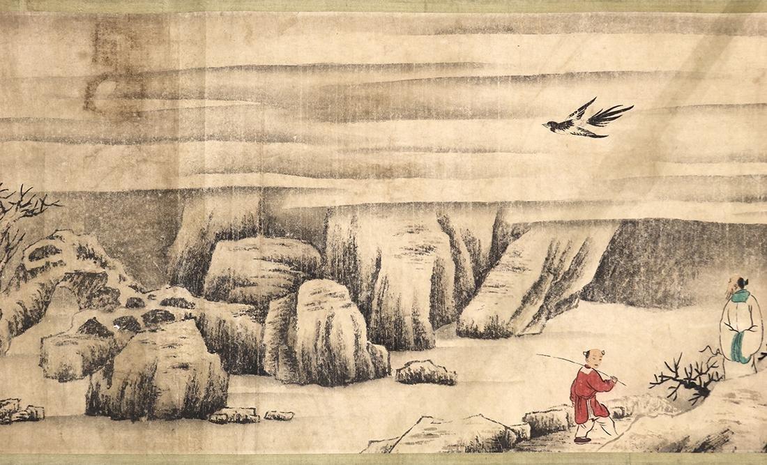 Chinese Handscroll, Manner of Chen Jiru, Landscape
