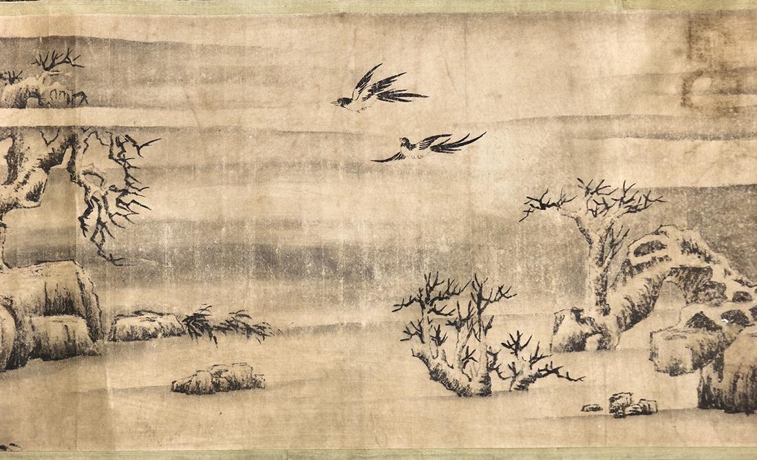 Chinese Handscroll, Manner of Chen Jiru, Landscape - 4