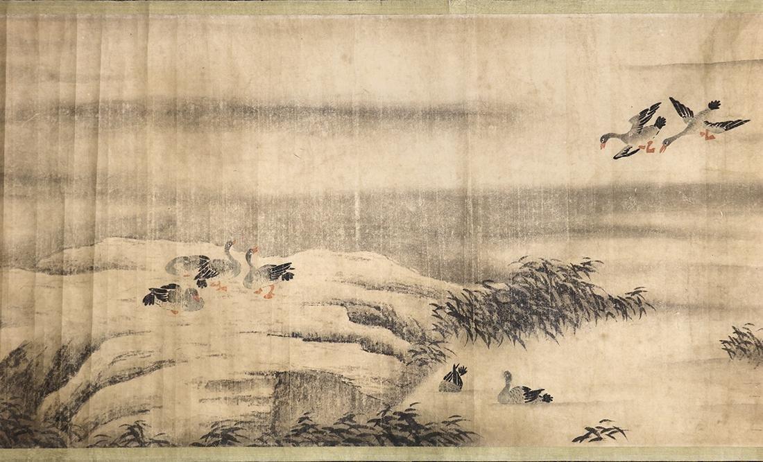 Chinese Handscroll, Manner of Chen Jiru, Landscape - 7