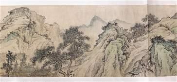 Handscroll, Manner of Qian Du, Landscape