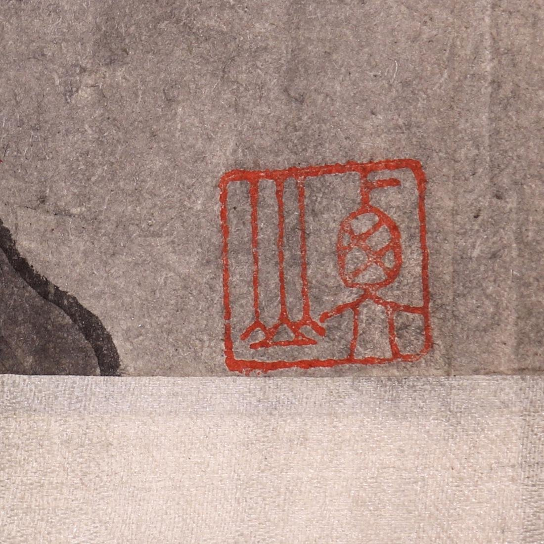 Chinese Scrolls, Manner of Shen Zhou, Pine Trees - 5