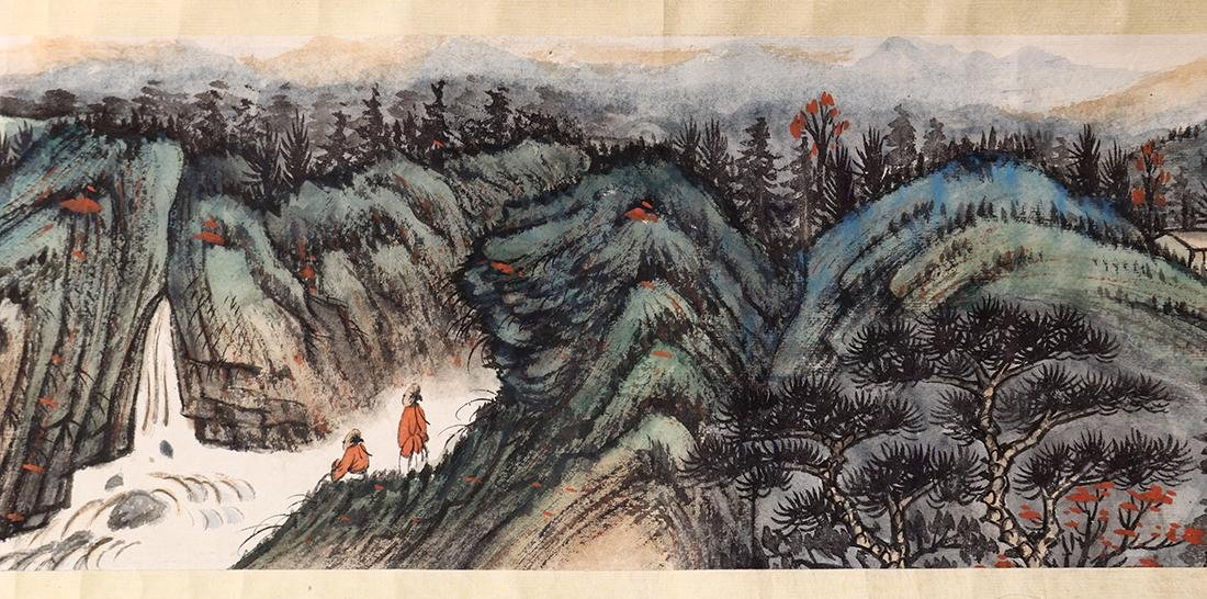 Chinese Scroll, Manner of Zhang Daqian, Landscape - 6
