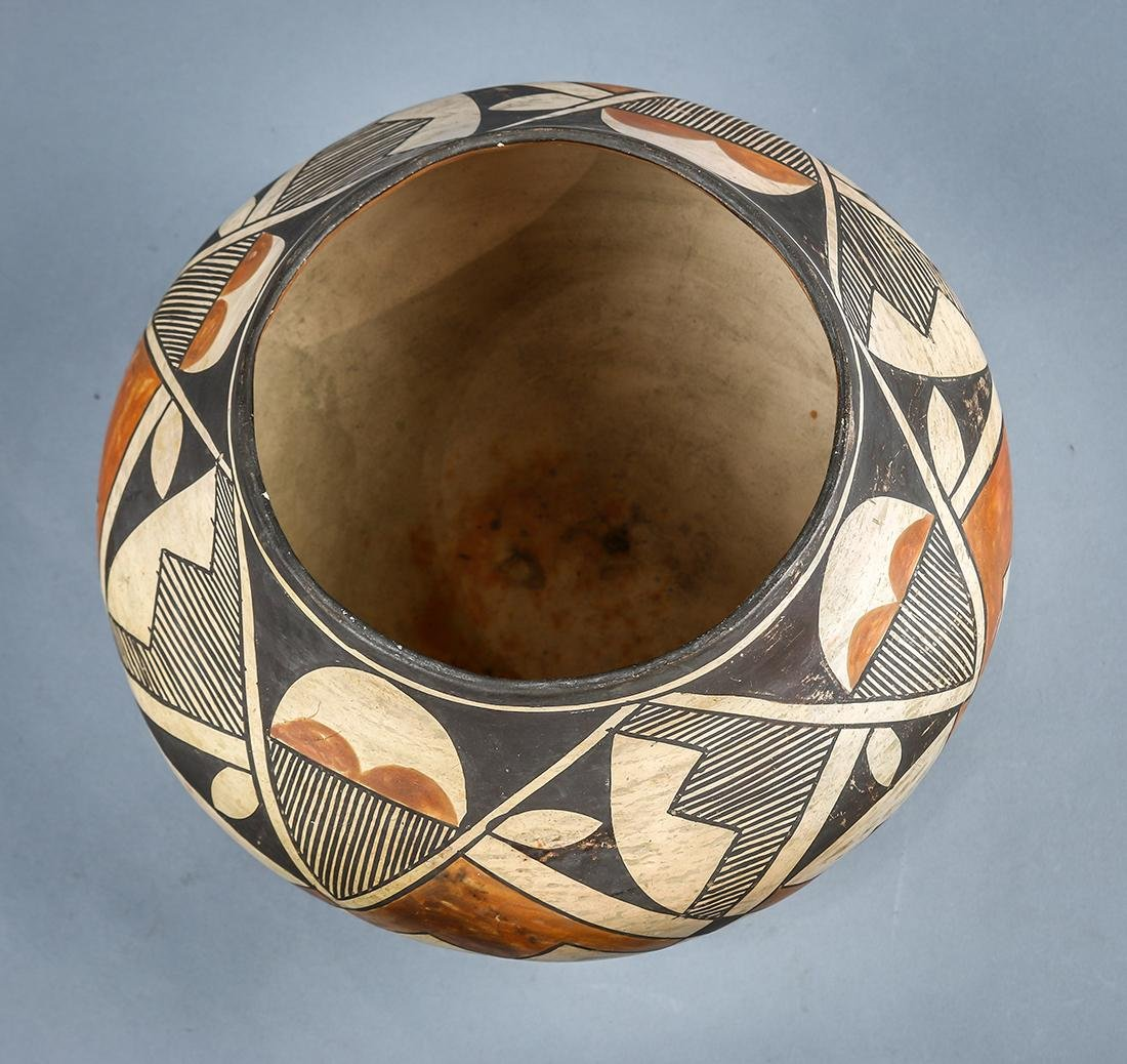 Acoma pottery olla or water jar, early 20th century, - 3