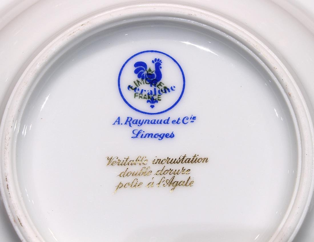 """French Limoges Raynaud """"Ambassador Gold"""" table service - 4"""