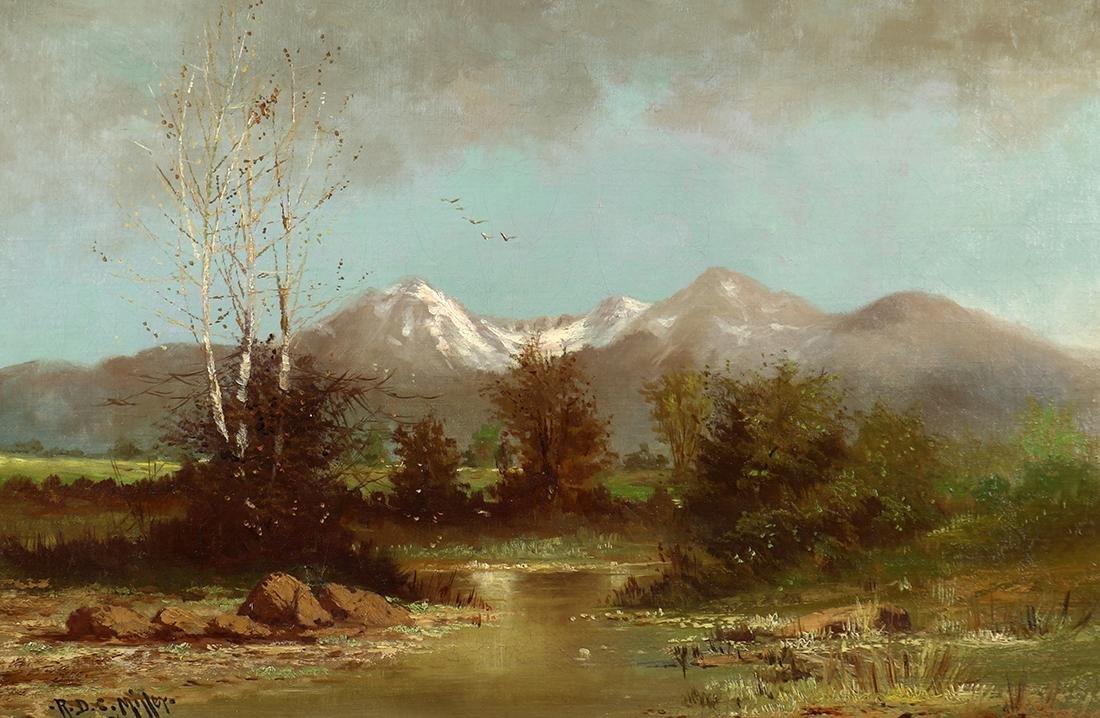 Painting, Ralph Davison Miller