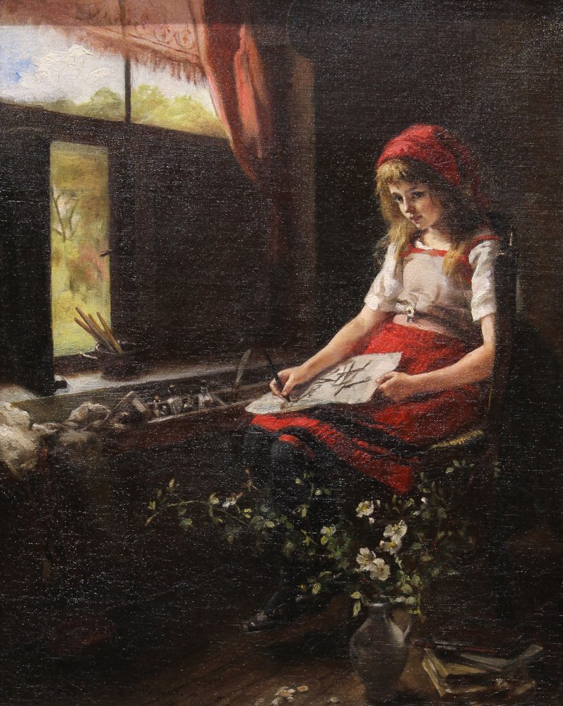 Painting, Miss E.F. Powell