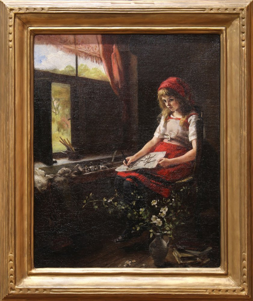 Painting, Miss E.F. Powell - 2
