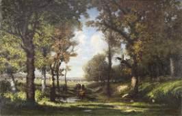 Painting, French Barbizon School