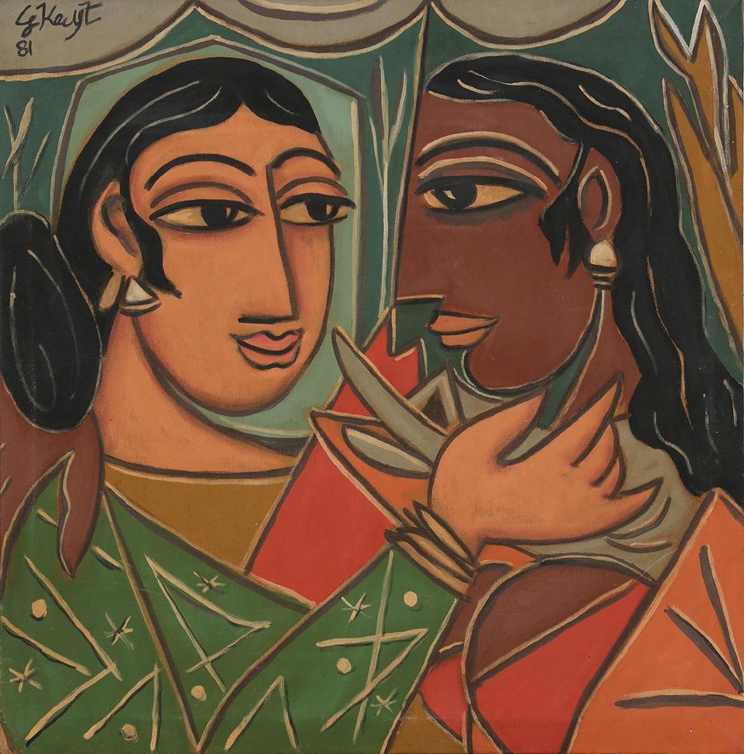 Painting, George Keyt