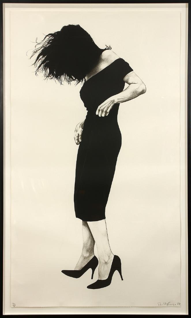 Print, Robert Longo, Gretchen