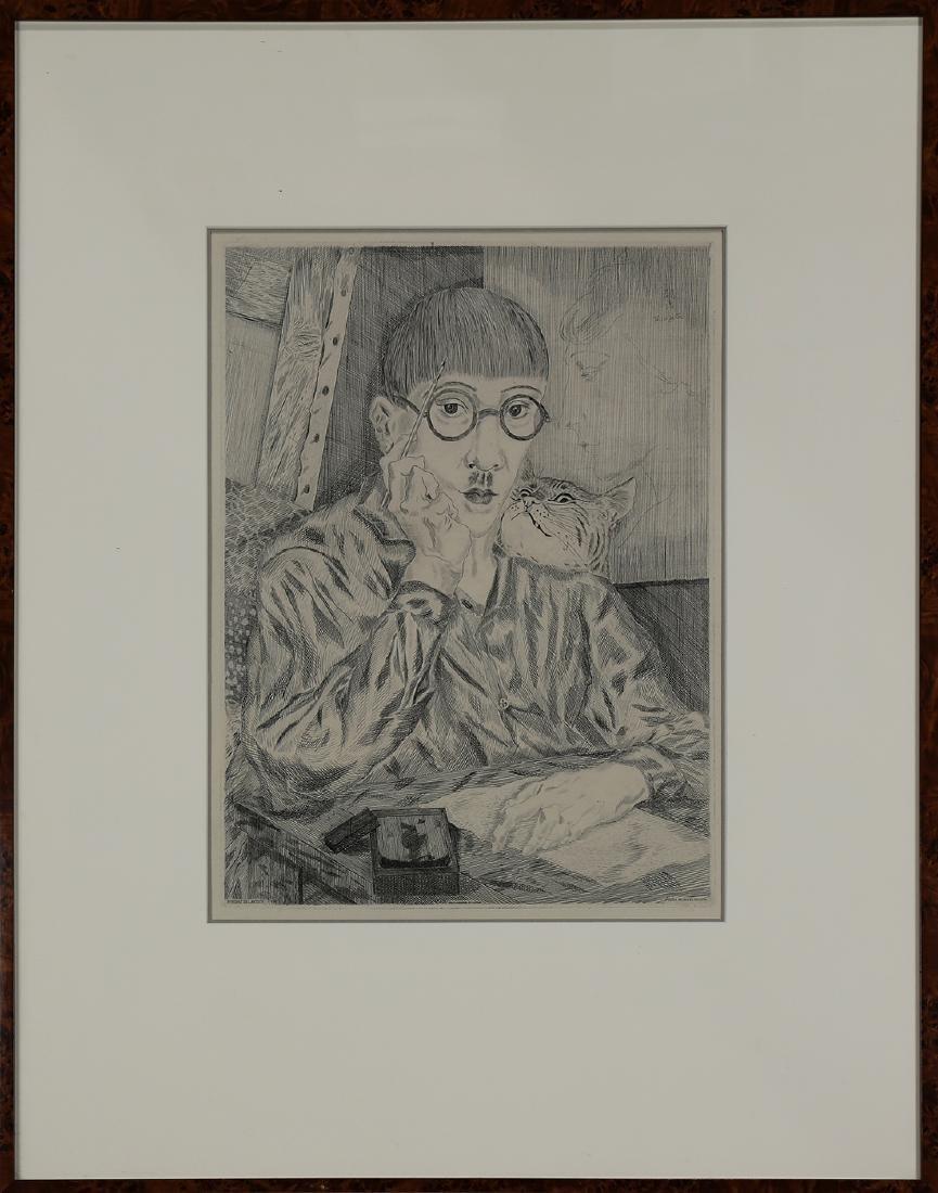 Print, Leonard Foujita - 2