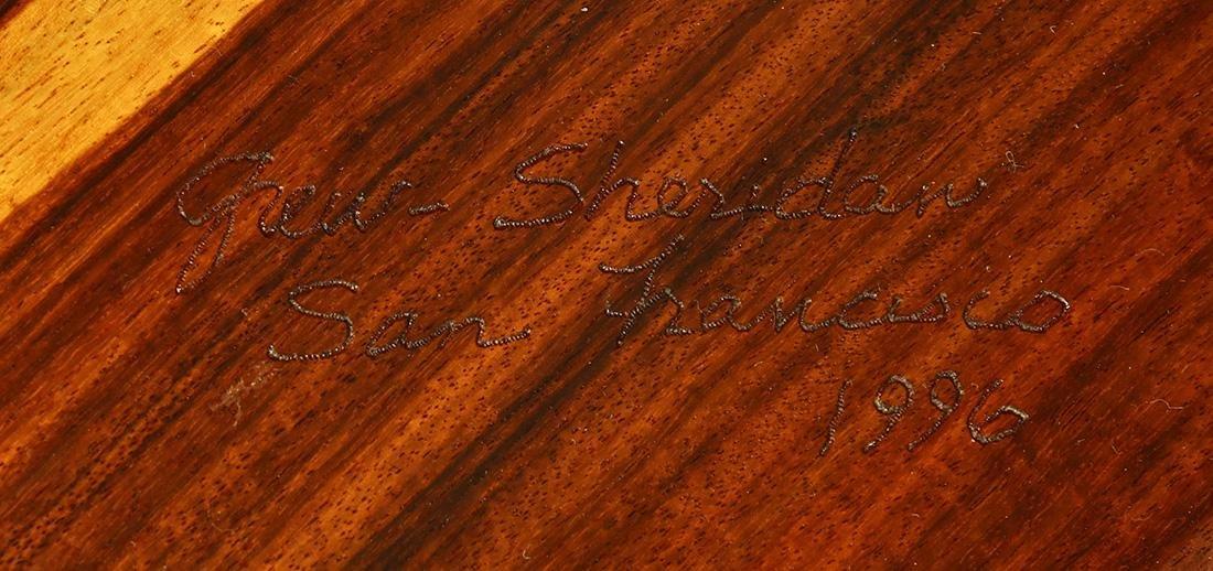 John and Carolyn Grew-Sheridan custom side table - 6