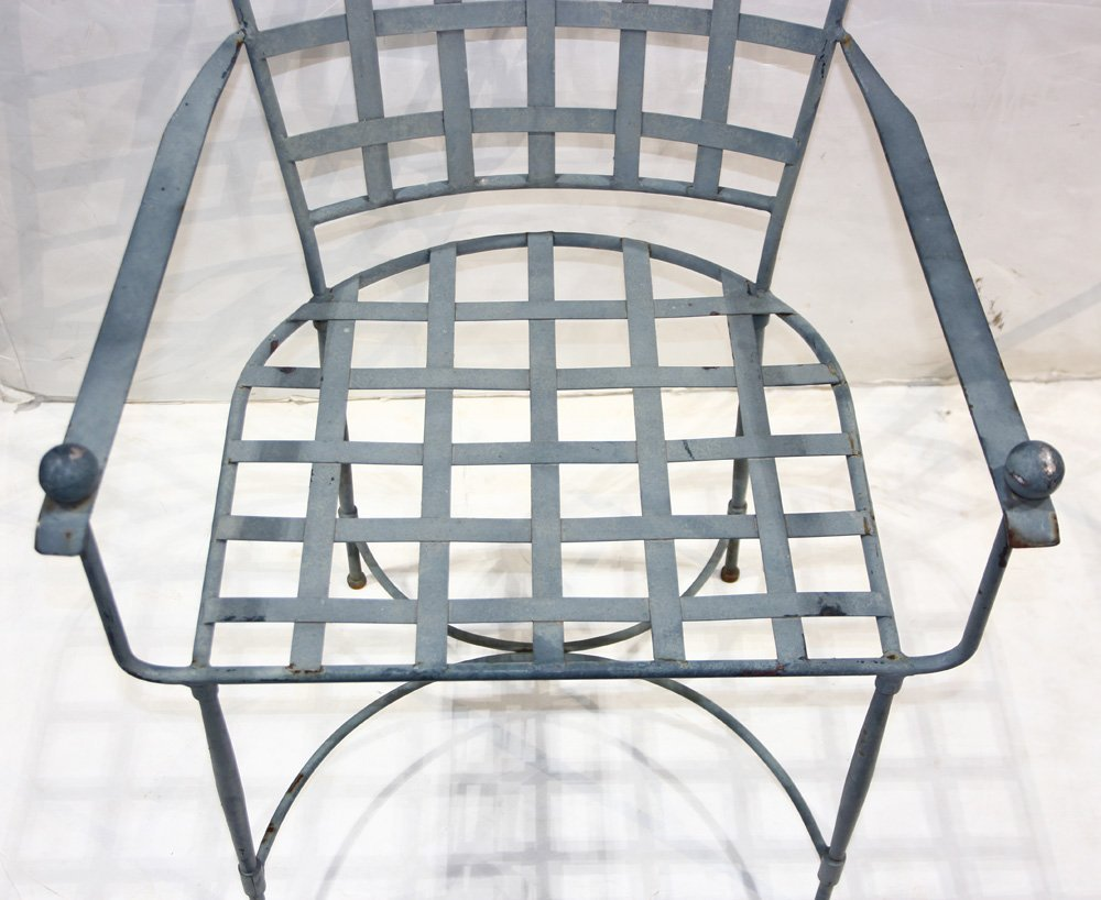 Mario Papperzini for John Salterini iron armchairs - 2
