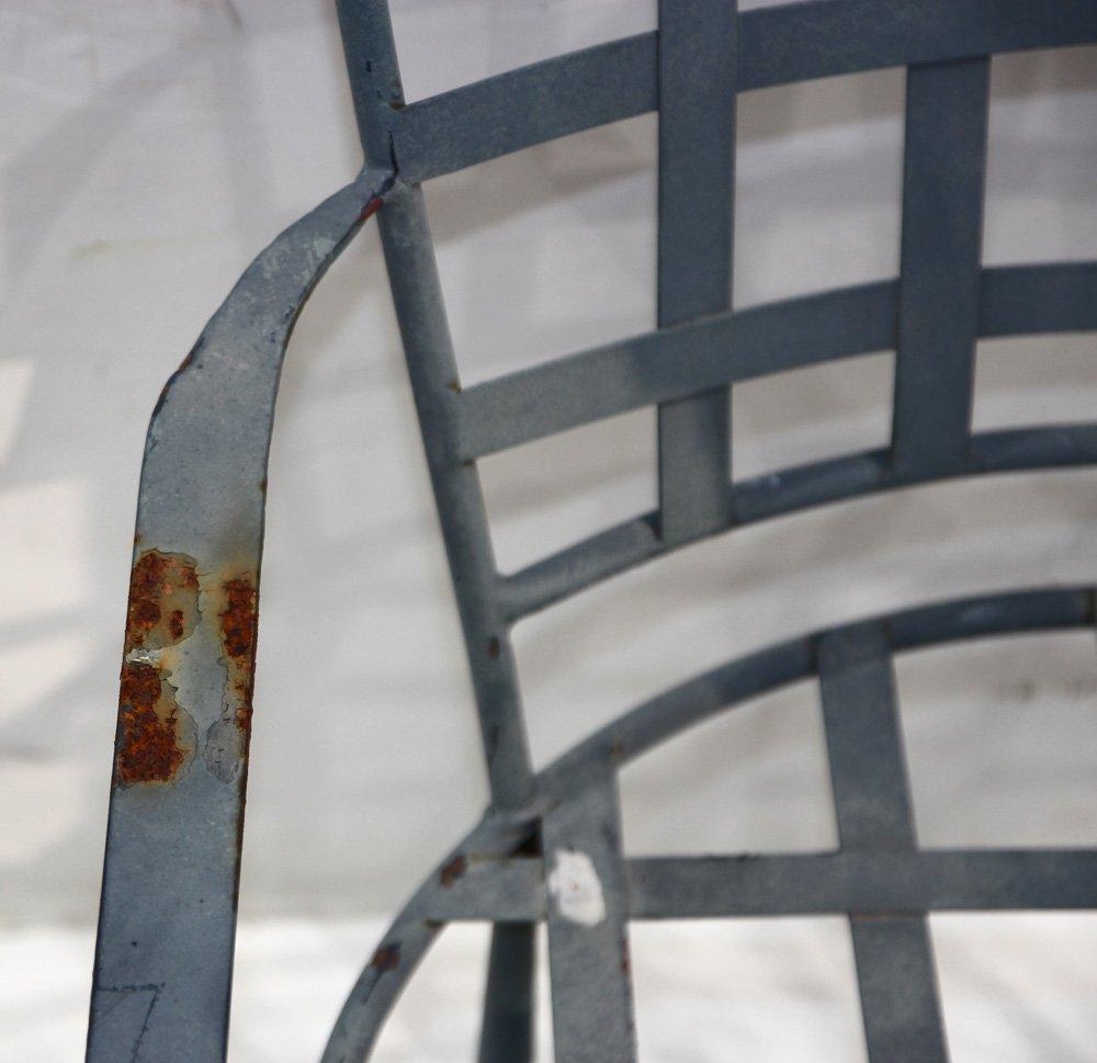 Mario Papperzini for John Salterini iron armchairs - 3