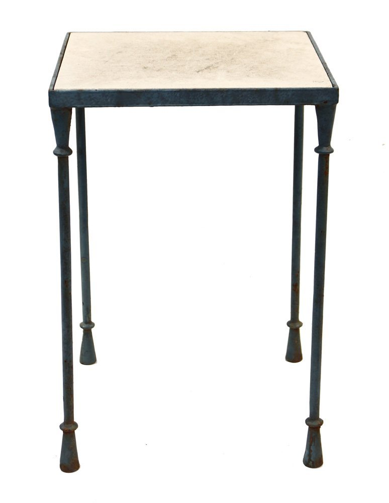 Mario Papperzini for John Salterini iron side table