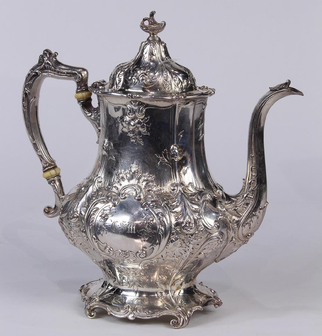 Gorham sterling silver hot water pot - 2