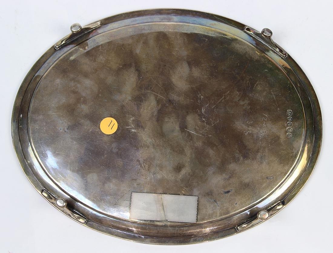 George III sterling silver salver - 2