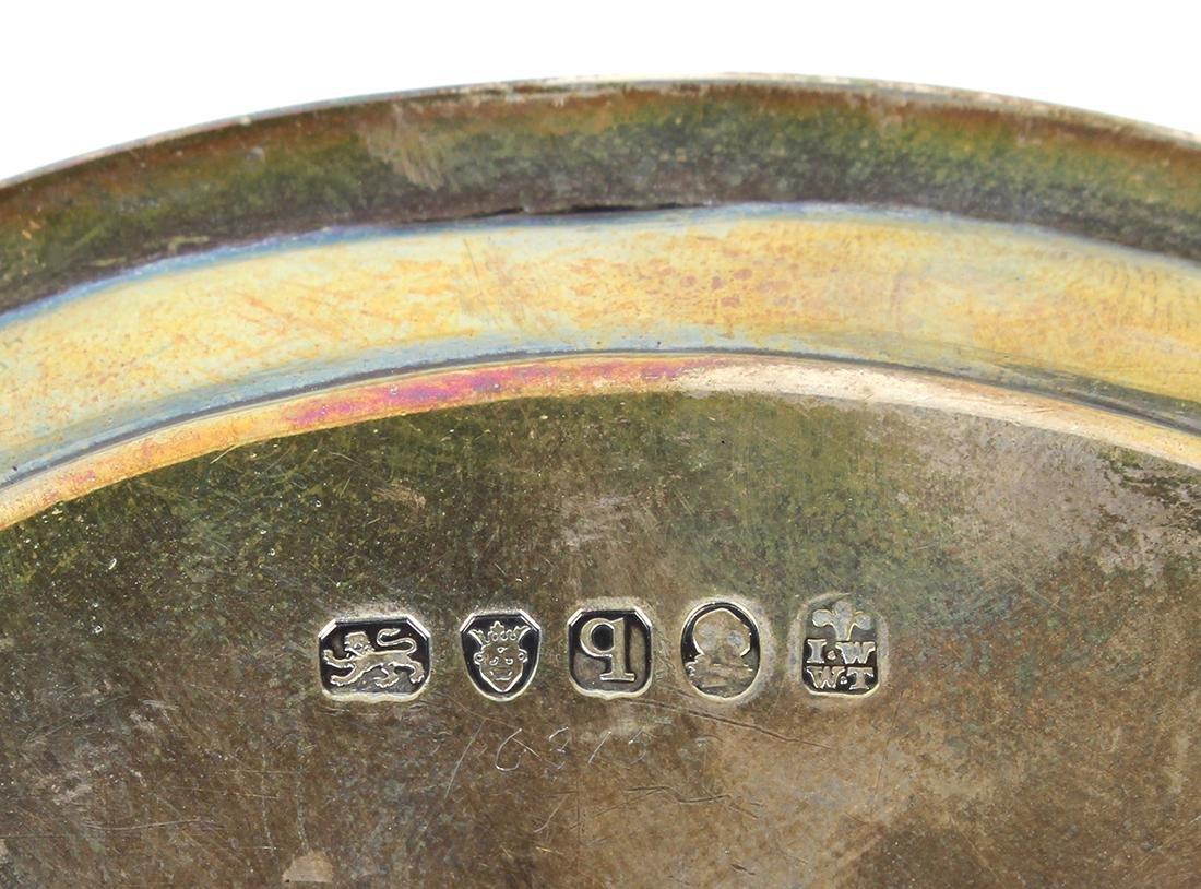 George III sterling silver salver - 3