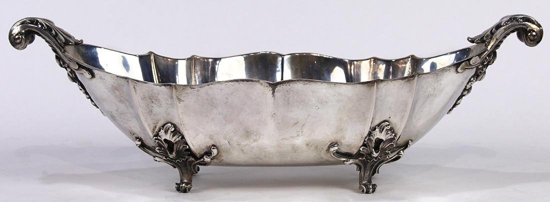 Italian .800 silver fruit bowl