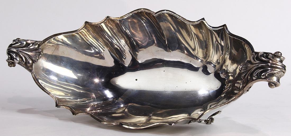 Italian .800 silver fruit bowl - 3