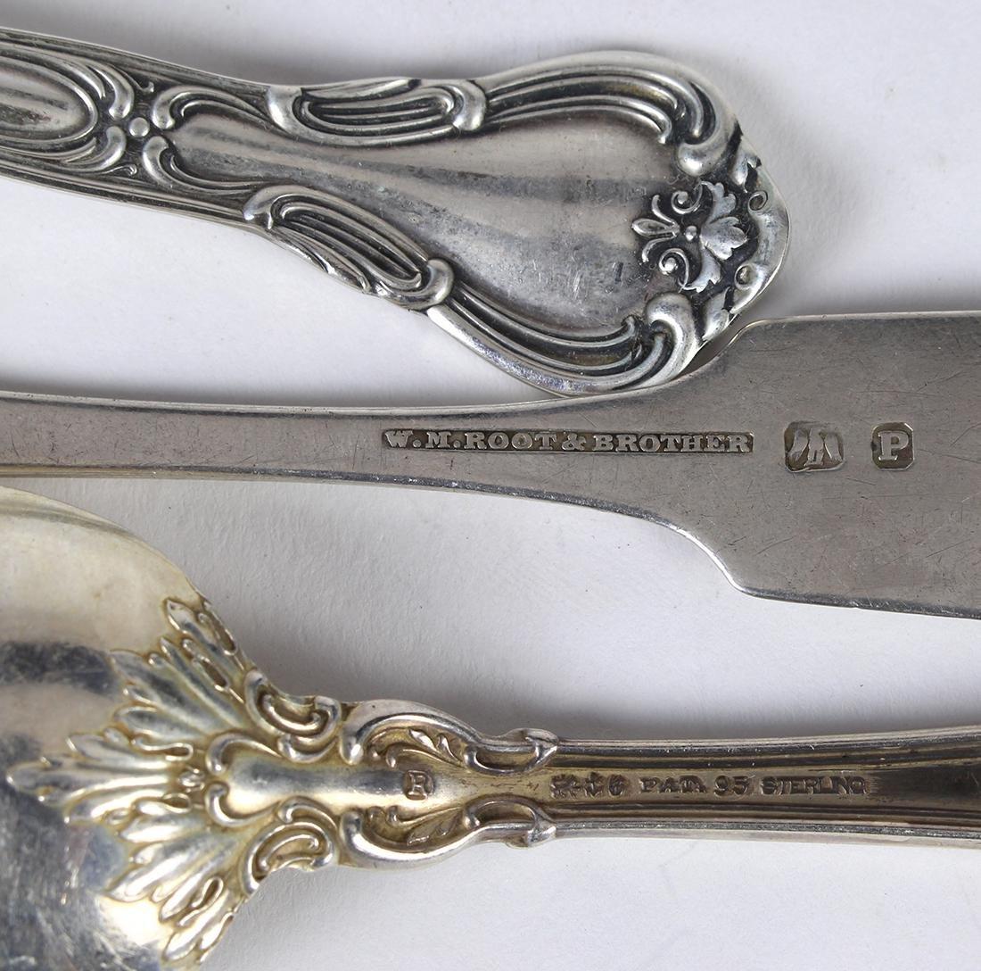 Gorham sterling silver partial flatware service - 2